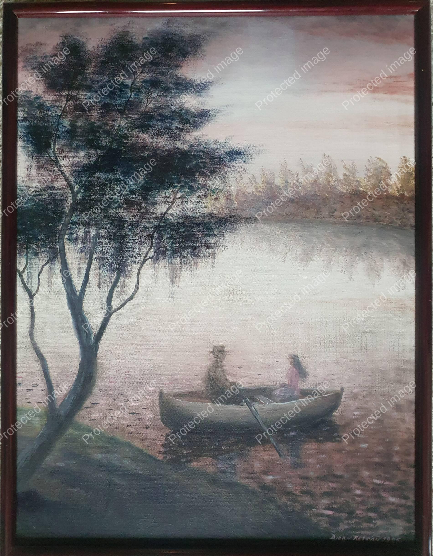 Båten på Innsjøen