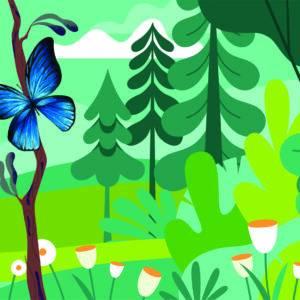 Butterfly Blue | Thomas Strandebø